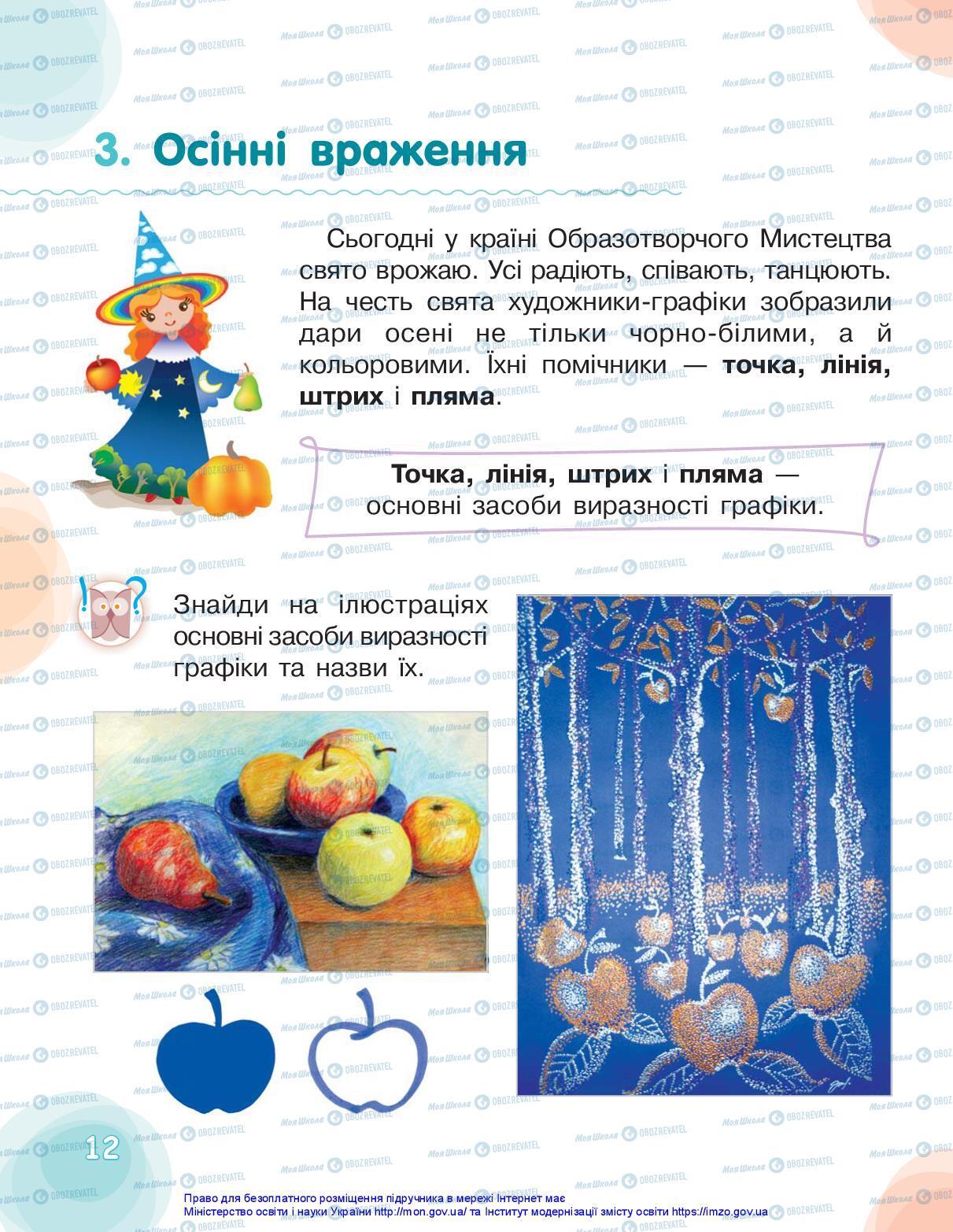 Учебники Искусство 2 класс страница 12