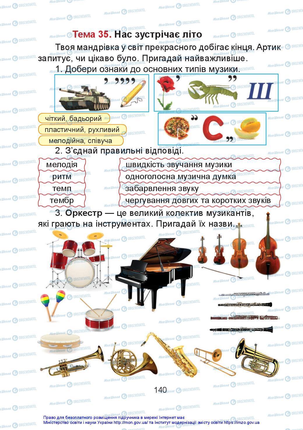Учебники Искусство 2 класс страница 140