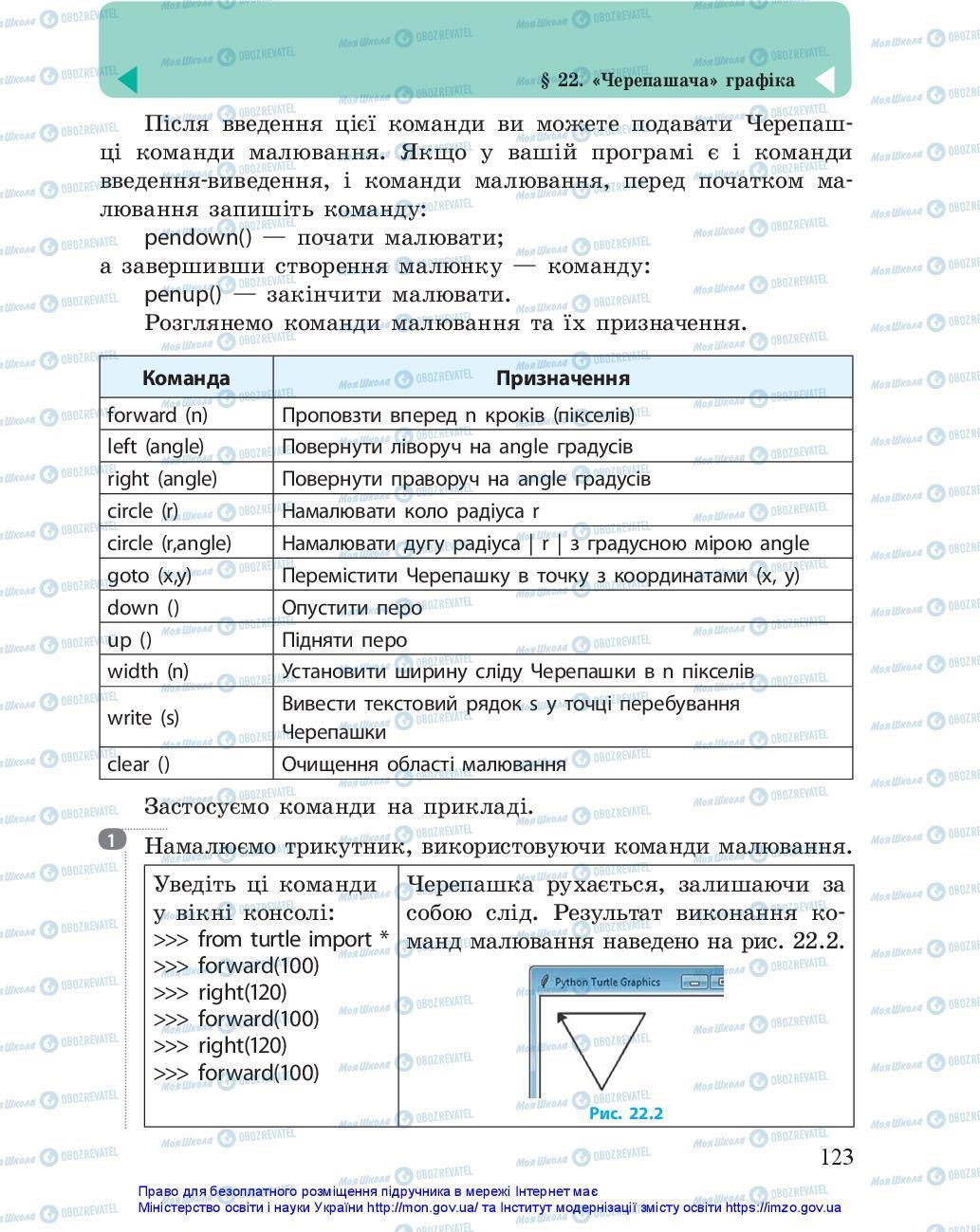 Учебники Информатика 5 класс страница 123