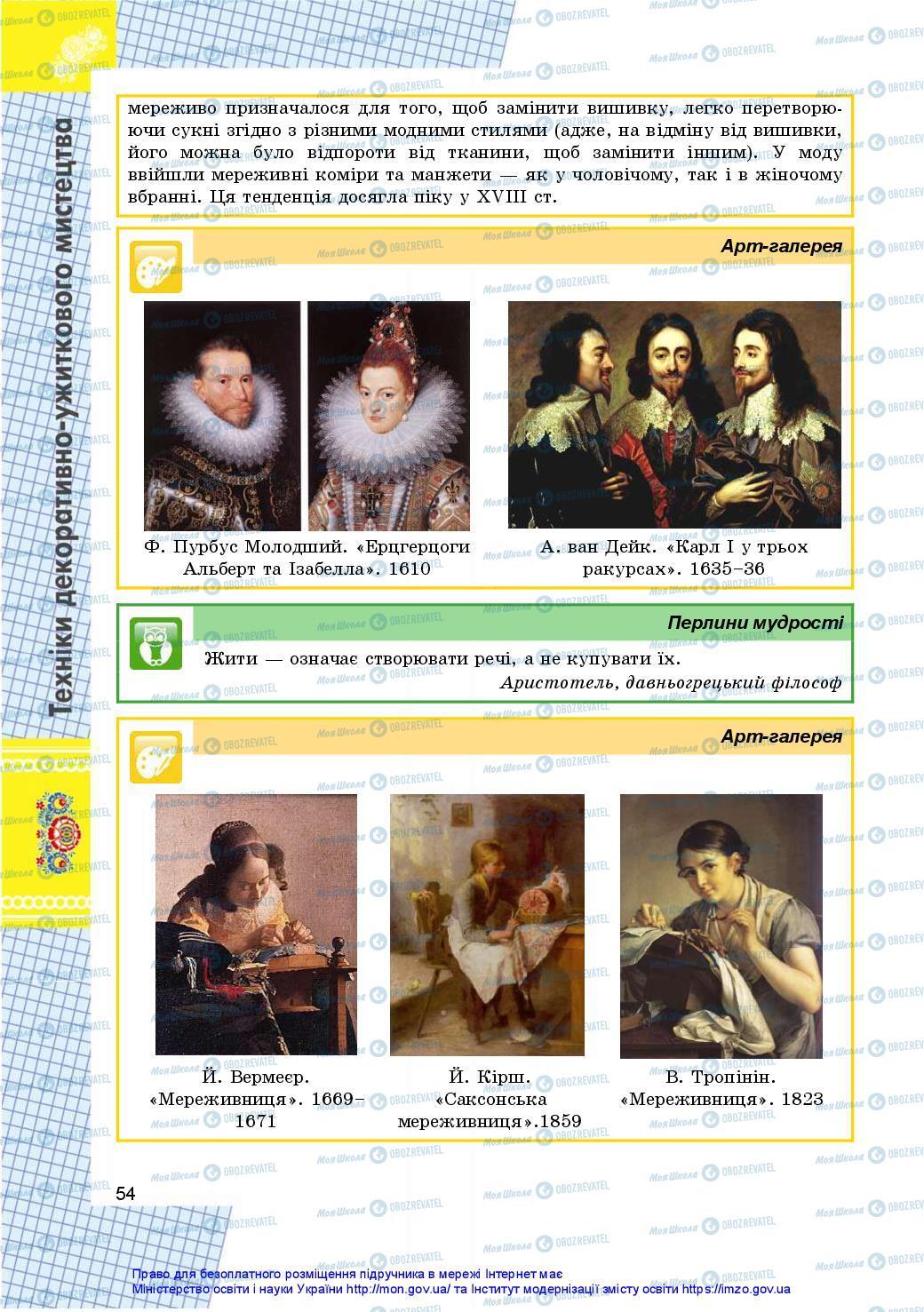 Підручники Технології 10 клас сторінка 54