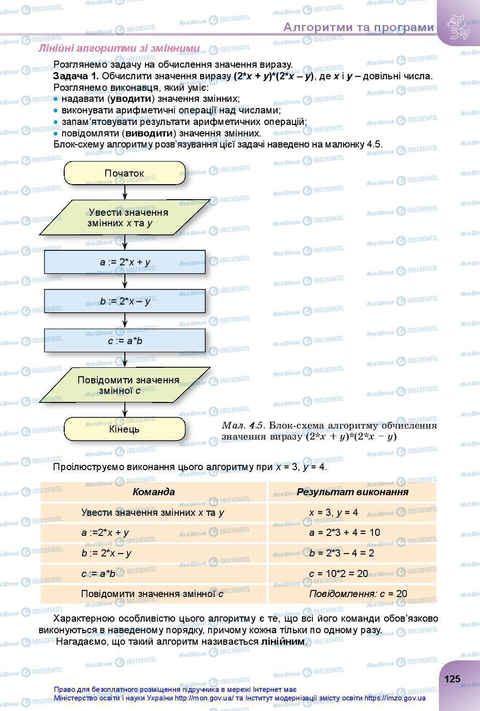 Учебники Информатика 7 класс страница 125
