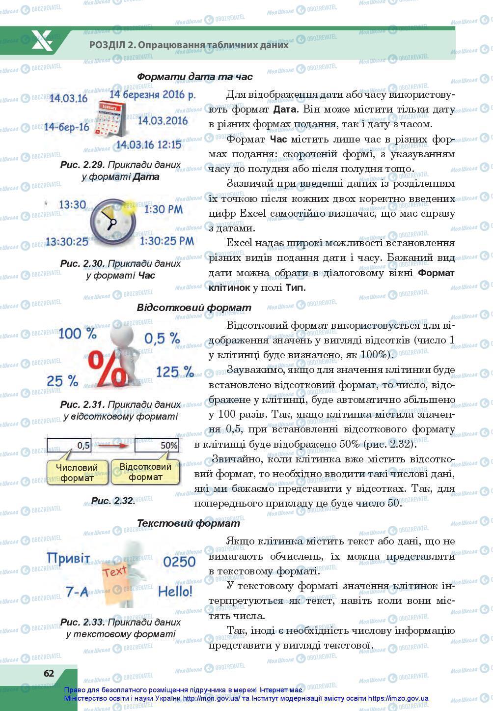Учебники Информатика 7 класс страница 62