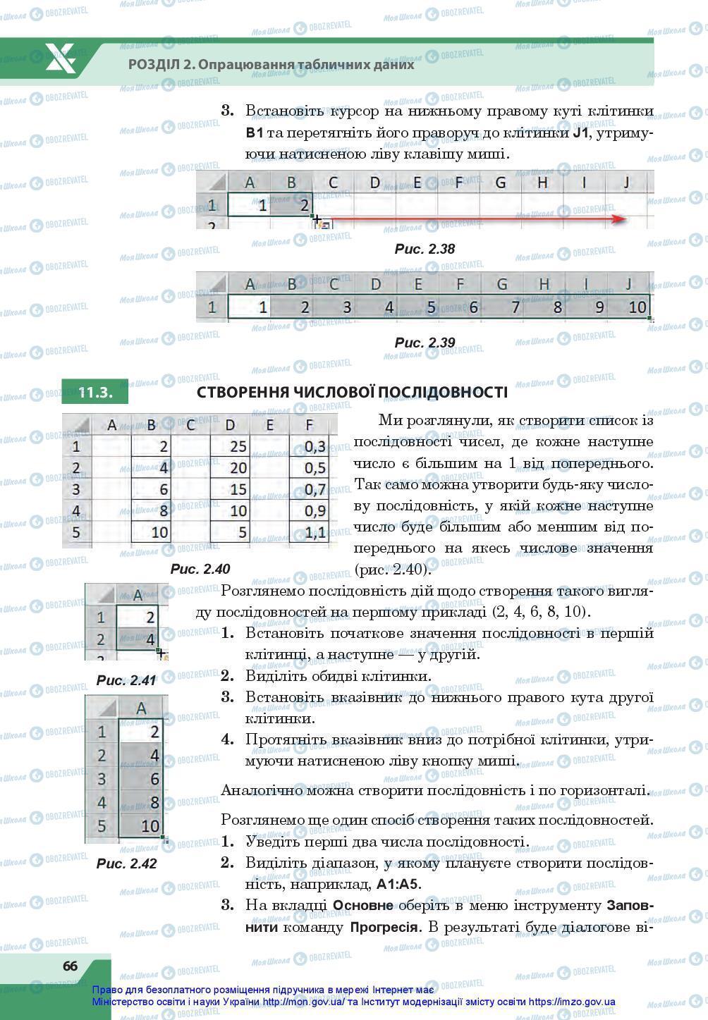 Учебники Информатика 7 класс страница 66