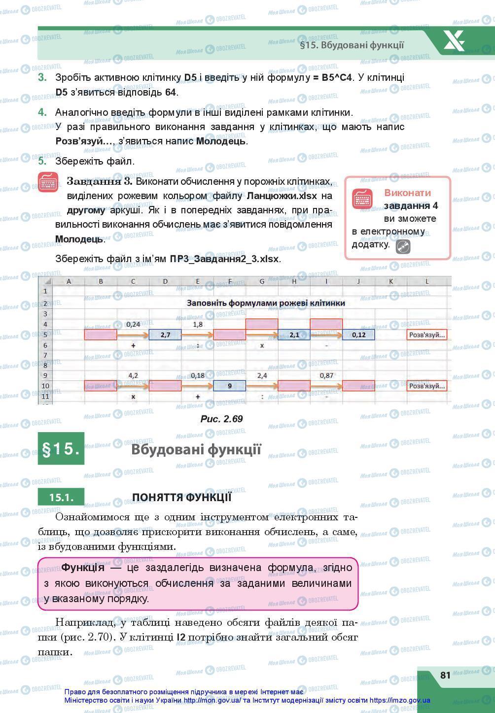 Підручники Інформатика 7 клас сторінка 81