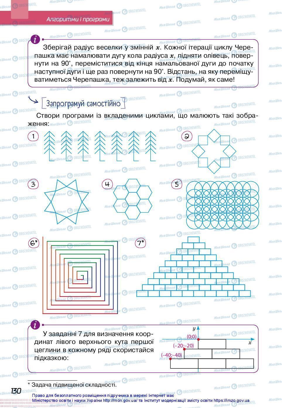 Учебники Информатика 7 класс страница 130