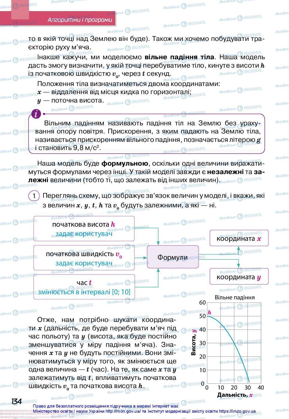 Учебники Информатика 7 класс страница 134