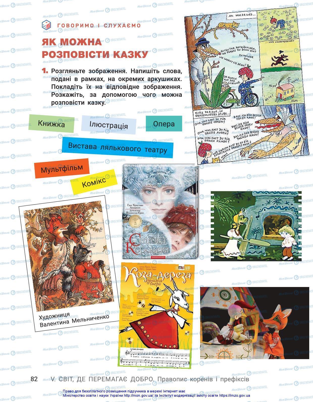 Підручники Українська мова 3 клас сторінка 82