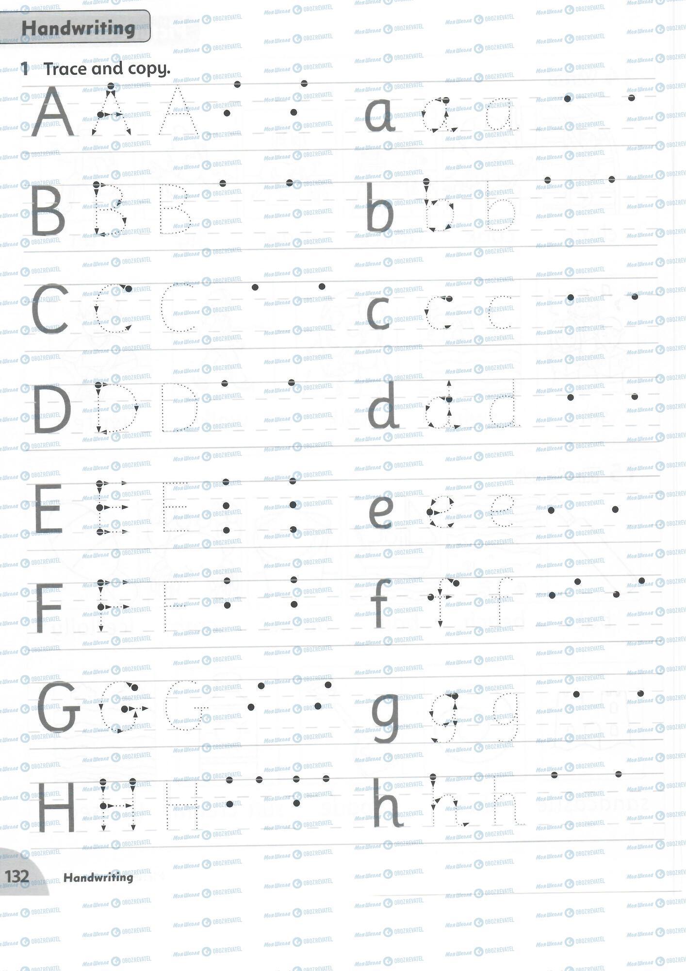 ГДЗ Англійська мова 1 клас сторінка 132