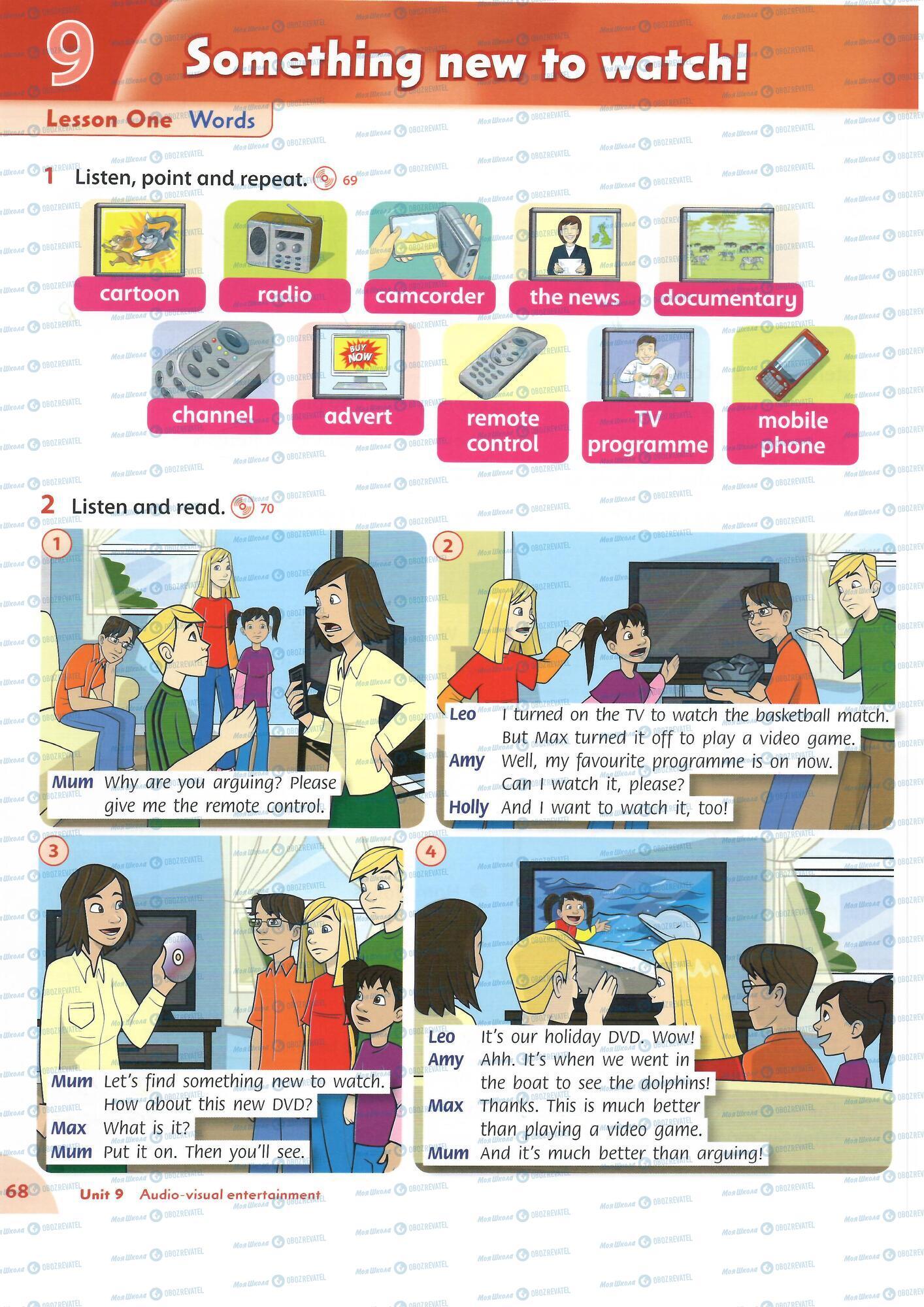 ГДЗ Английский язык 4 класс страница 68