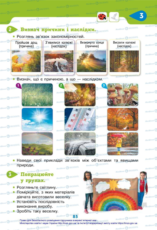 Підручники Я досліджую світ 3 клас сторінка 85