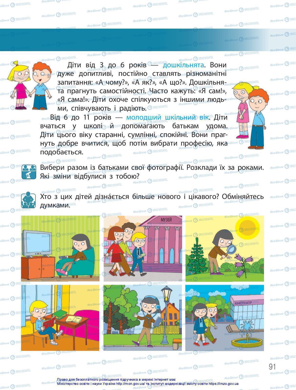 Учебники ЯДС (исследую мир) 3 класс страница 91