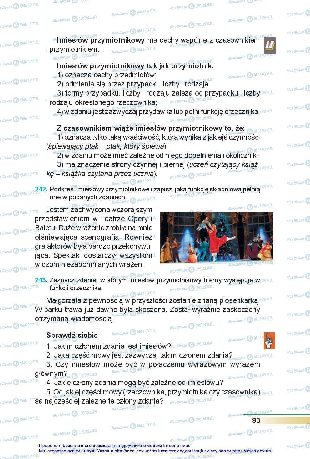 Учебники Польский язык 7 класс страница 93