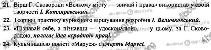 ДПА Укр лит 9 класс страница Варіант 4