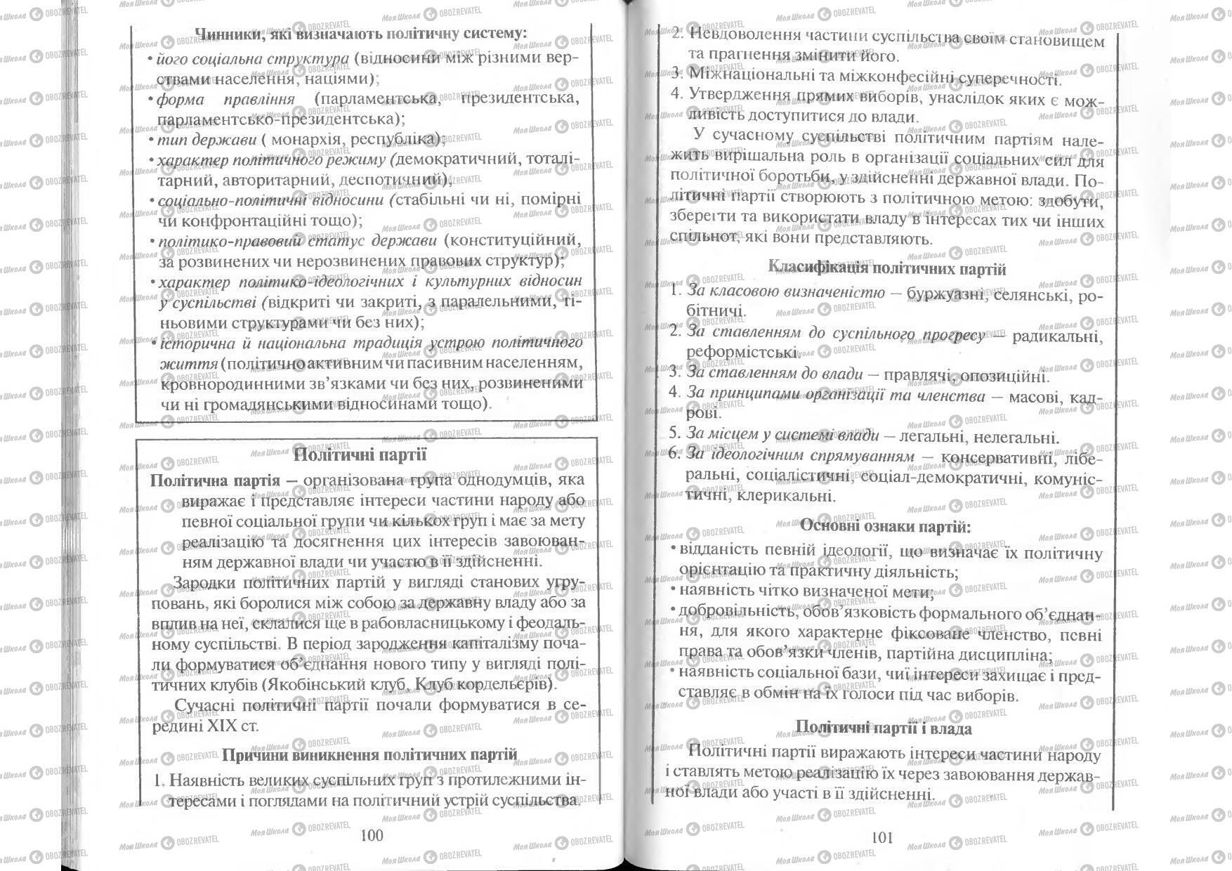 Учебники Человек и мир 11 класс страница 100-101
