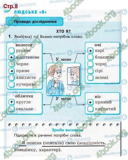 ГДЗ Я у світі 3 клас сторінка Стр.8