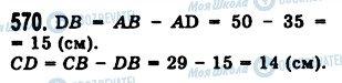 ГДЗ Математика 5 класс страница 570
