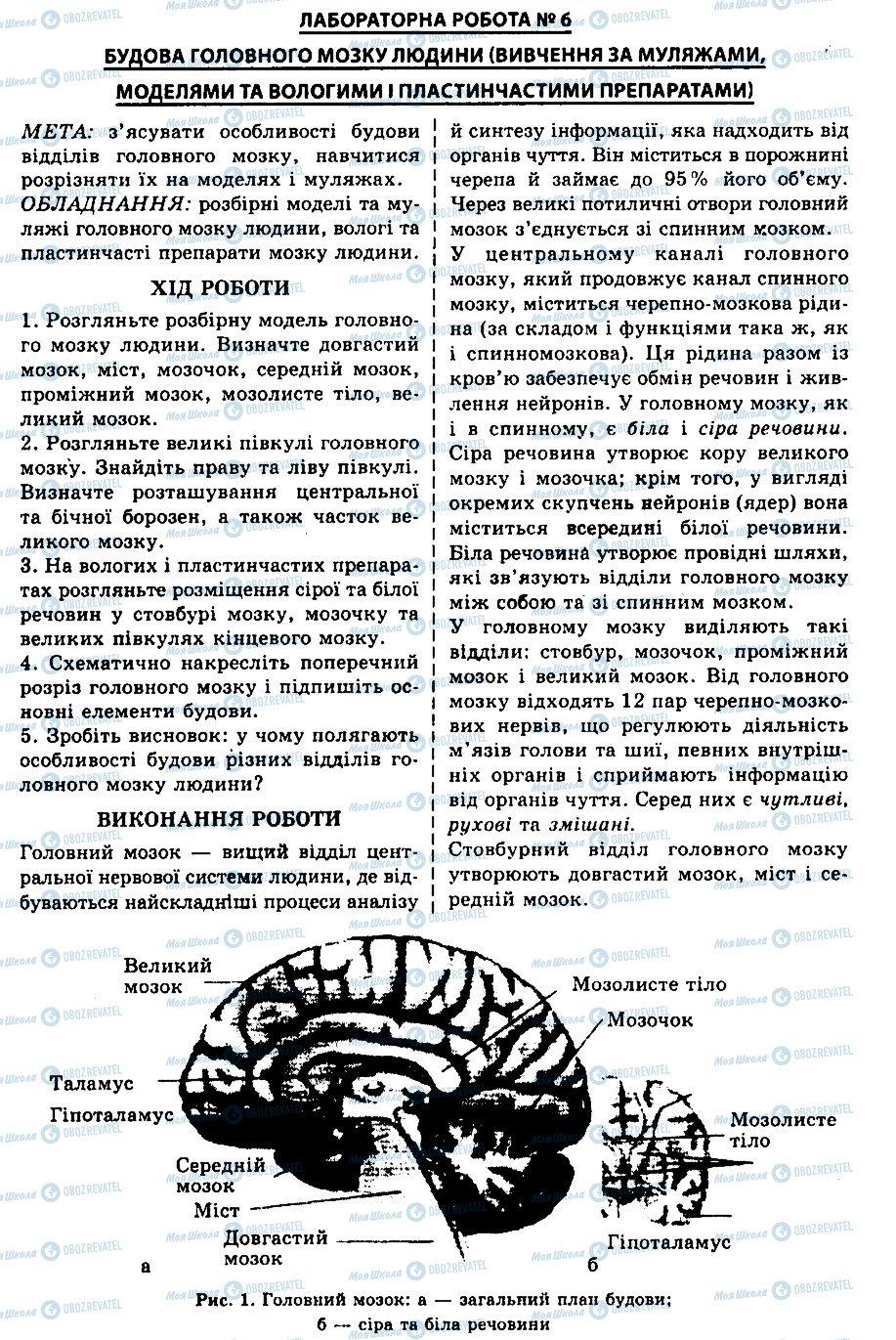 ГДЗ Биология 9 класс страница ЛР6