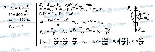 ГДЗ Фізика 8 клас сторінка 7