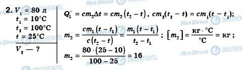 ГДЗ Фізика 8 клас сторінка 2