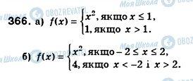 ГДЗ Алгебра 8 клас сторінка 366