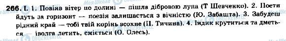 ГДЗ Українська мова 9 клас сторінка 266