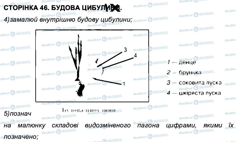 ГДЗ Біологія 6 клас сторінка СТ46