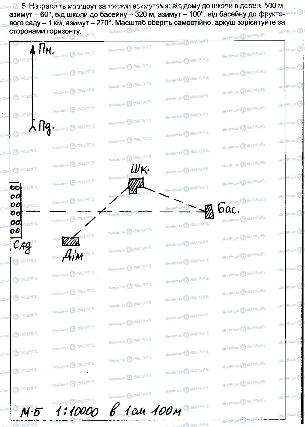 ГДЗ География 6 класс страница 5