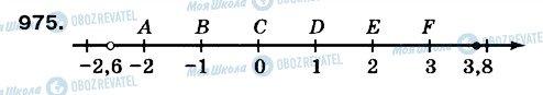 ГДЗ Математика 6 клас сторінка 975