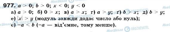 ГДЗ Математика 6 клас сторінка 977