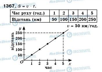 ГДЗ Математика 6 класс страница 1367