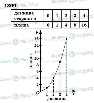 ГДЗ Математика 6 класс страница 1369