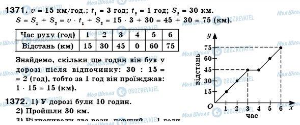 ГДЗ Математика 6 класс страница 1371