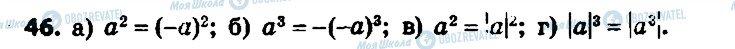 ГДЗ Алгебра 7 клас сторінка 46