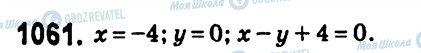ГДЗ Алгебра 7 класс страница 1061