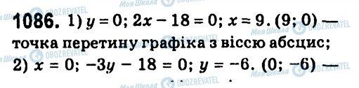 ГДЗ Алгебра 7 класс страница 1086