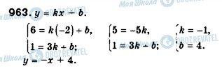 ГДЗ Алгебра 7 класс страница 963