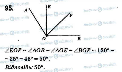ГДЗ Геометрія 7 клас сторінка 95