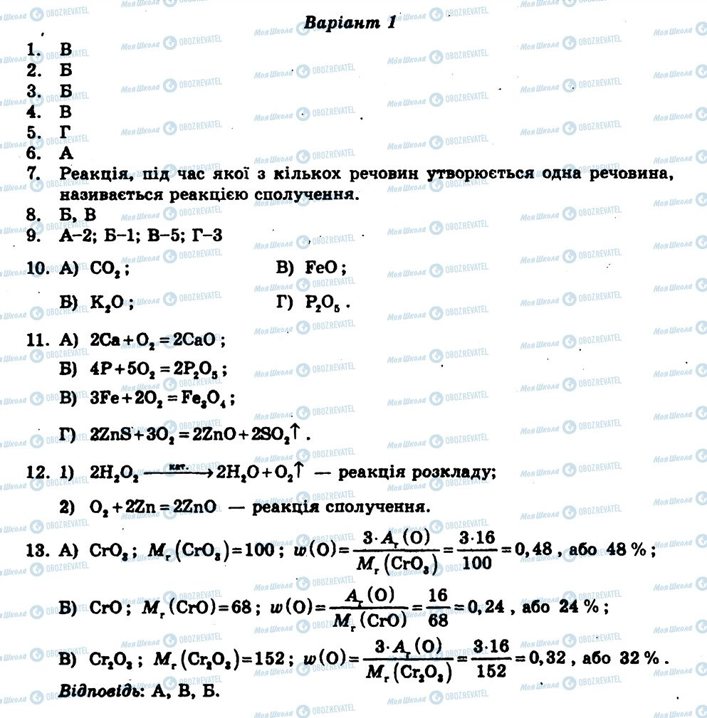 ГДЗ Химия 7 класс страница КР3
