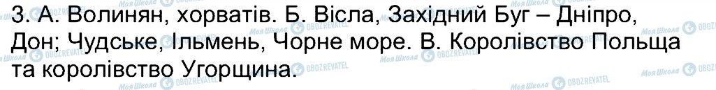 ГДЗ История Украины 7 класс страница 3