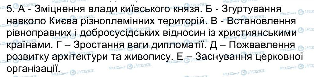 ГДЗ История Украины 7 класс страница 5