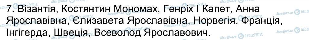 ГДЗ История Украины 7 класс страница 7