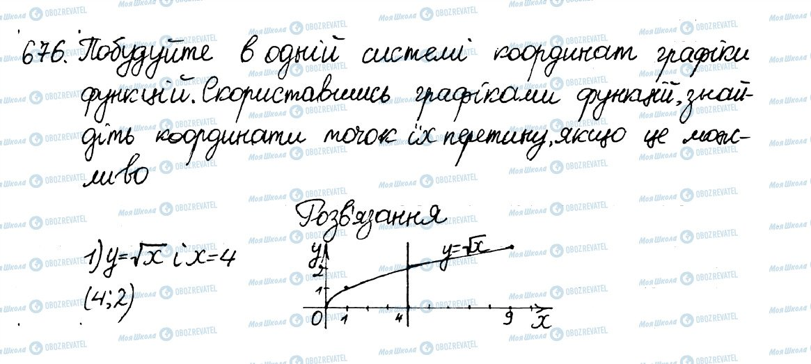 ГДЗ Алгебра 8 клас сторінка 676