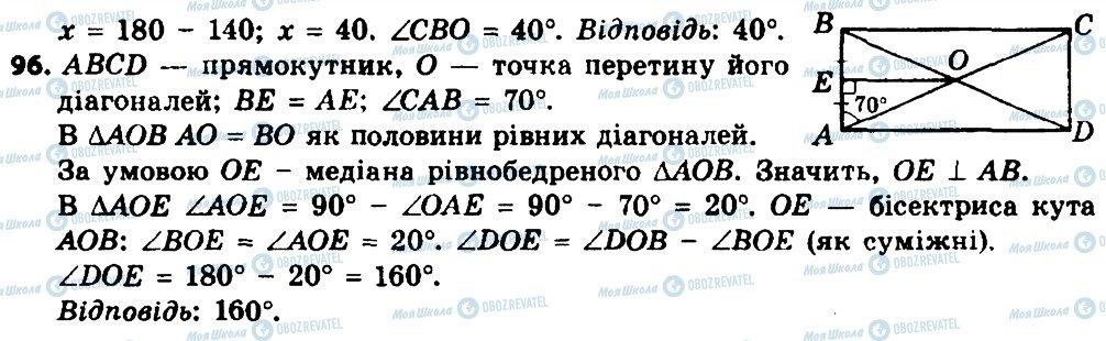 ГДЗ Геометрия 8 класс страница 96