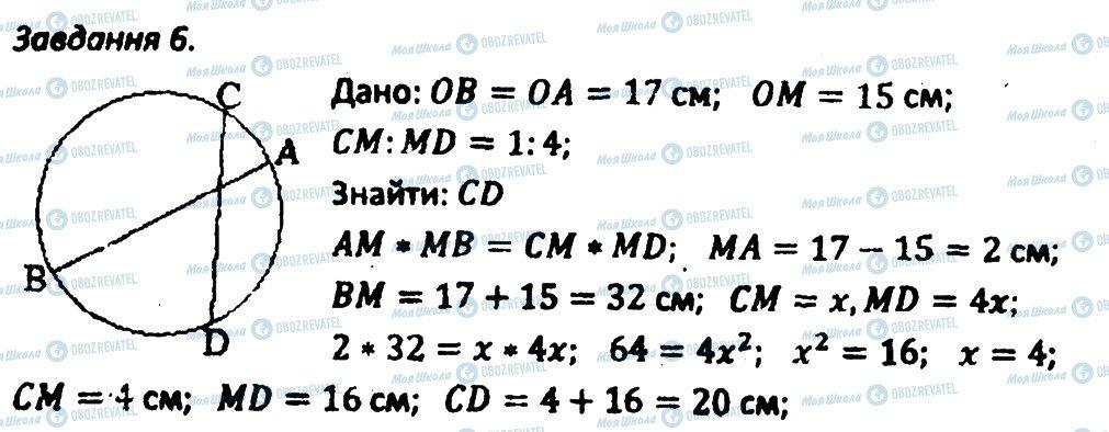 ГДЗ Геометрия 8 класс страница 6
