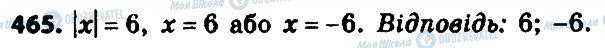 ГДЗ Алгебра 8 класс страница 465