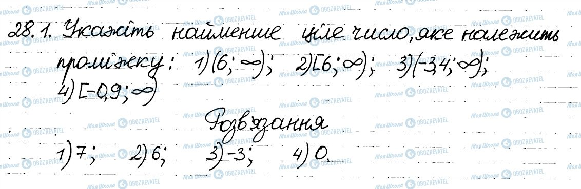 ГДЗ Алгебра 8 класс страница 1