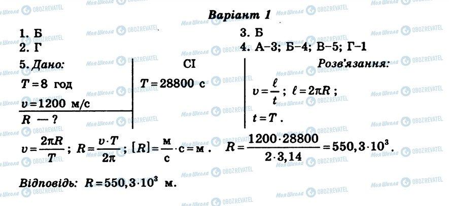 ГДЗ Физика 8 класс страница СР2
