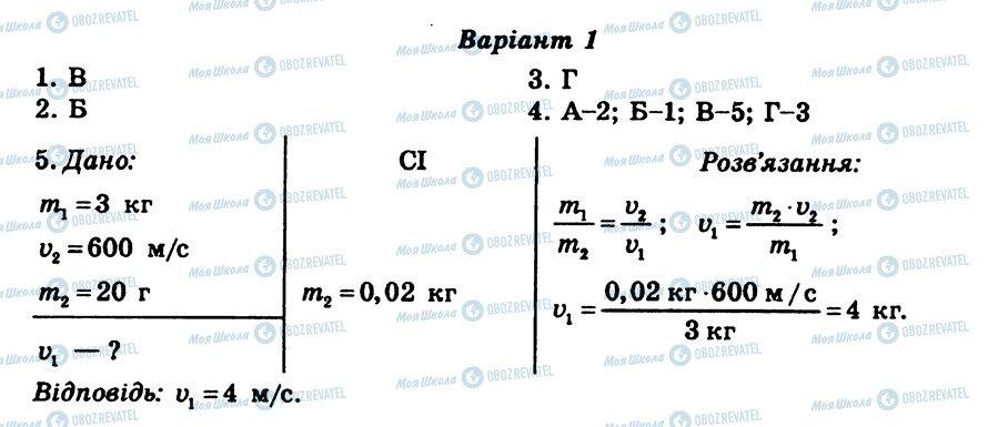 ГДЗ Физика 8 класс страница СР4