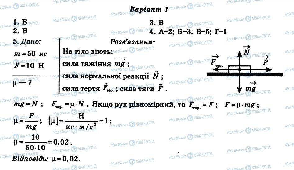 ГДЗ Физика 8 класс страница СР6