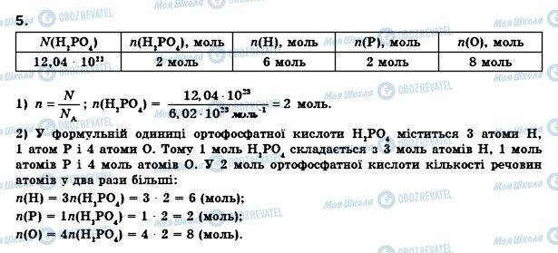 ГДЗ Хімія 8 клас сторінка 5